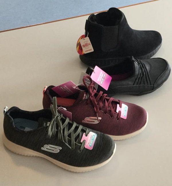 Udvalg af fodtøj til ældre på Sjælland